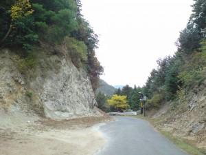 石水渓頂上