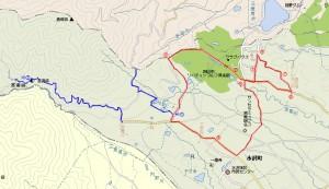 水沢コース図