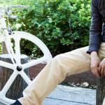 narifuri(ナリフリ) BICYCLE PANTS -自転車通勤時の服装-